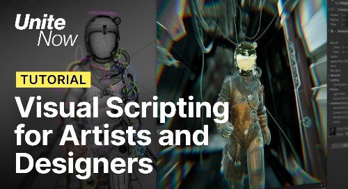 Unity Bolt visual scripting for artists and designers