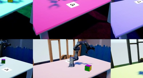 Teaching robots to see with Unity