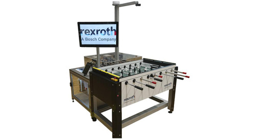 Foosball and deep reinforcement learning at Bosch Rexroth