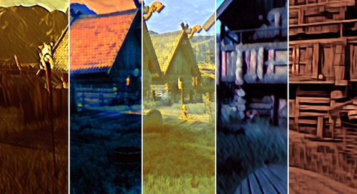 Real-time style transfer in Unity using deep neural networks