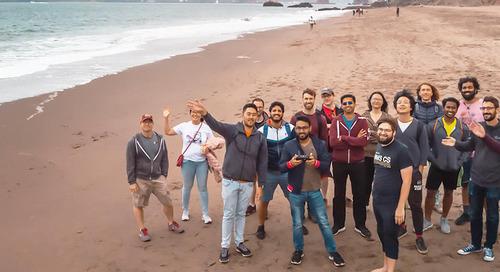 The AI@Unity interns help shape the world