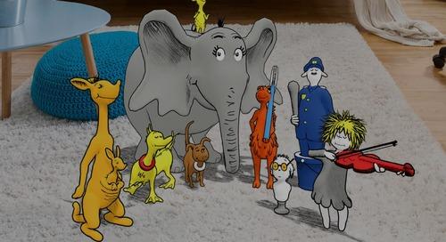 Dr. Seuss's ABC: An amazing AR Alphabet!