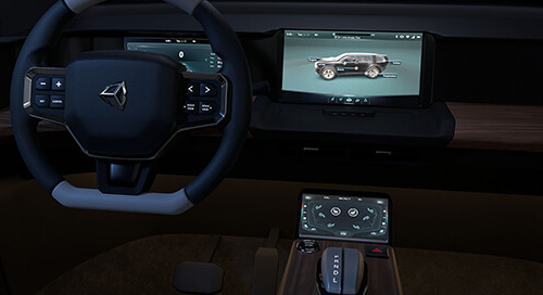 Automotive HMI Template: Take it for a ride