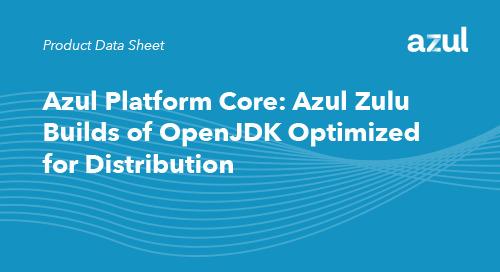 Azul Platform Core for Distribution (OEMs and ISVs)