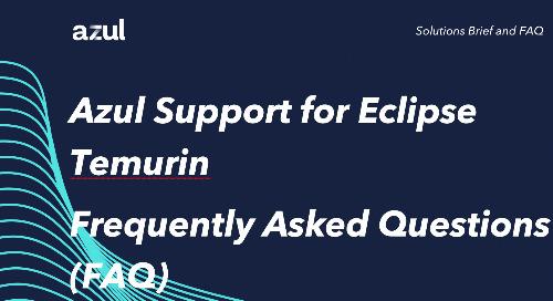 Azul Support for Temurin FAQ