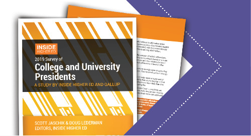 Inside Higher Ed 2019 Survey of College and University Presidents