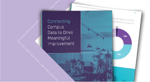 Connecting Campus Data to Drive Meaningful Improvement
