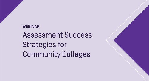 Assessment Success Strategies for Community Colleges