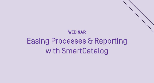 Easing Processes and Reporting With SmartCatalog by Watermark