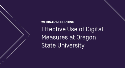 Effective Use of Faculty Success (formerly Digital Measures) at Oregon State University