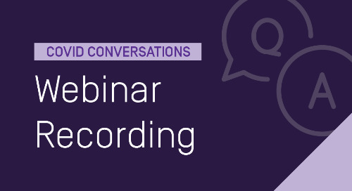 COVID Conversations: Adapting Assessment & Focusing on Outcomes During a Crisis