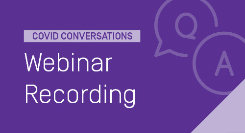 COVID Conversations: Tips from Online Learning Experts on Transitioning to Remote Learning