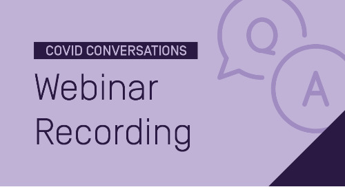 COVID Conversations: Supporting Teacher Candidates & Maintaining Program Quality