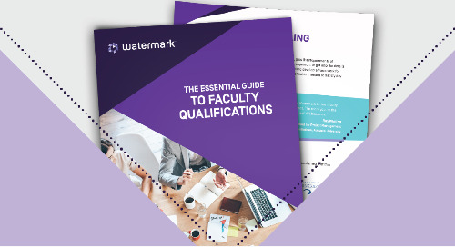 The Essential Guide to Faculty Qualifications | eBook Watermark