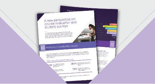 A New Perspective on Course Evaluation and Student Surveys