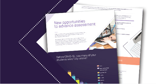 New Opportunities to Advance Assessment
