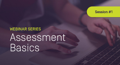 Assessment Basics #1: Developing Quality Outcomes & Objectives