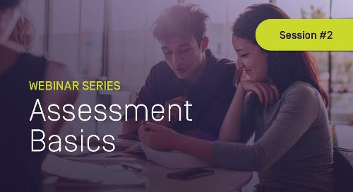 Assessment Basics #2: Curriculum Mapping