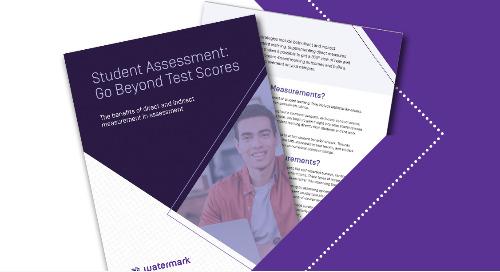 Student Assessment: Go Beyond Test Scores