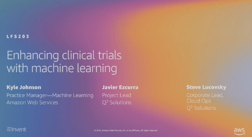 Video: Enhancing clinical trials with machine learning