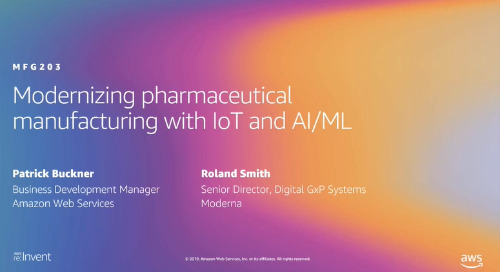 Video: Modernizing pharmaceutical manufacturing with IoT and AI/ML