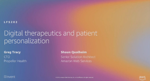 Video: Digital therapeutics and patient personalization