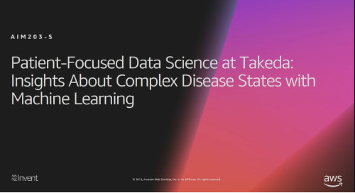Video: Patient-Focused Data Science: Machine Learning for Complex Diseases