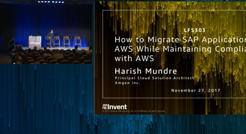 Webinar: Migrate SAP applications while maintaining compliance with AWS
