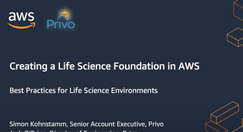 Webinar: Best Practices for Life Science Environments