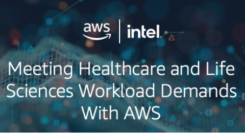 Infographic: Meeting Healthcare and Life Sciences Workload Demands with AWS