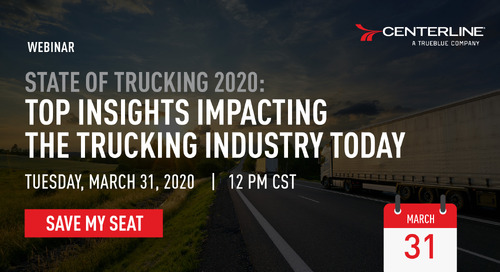 [New Webinar] State of Trucking 2020