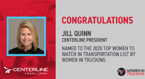 Jill Quinn Named a Top Woman to Watch in Transportation by Women in Trucking