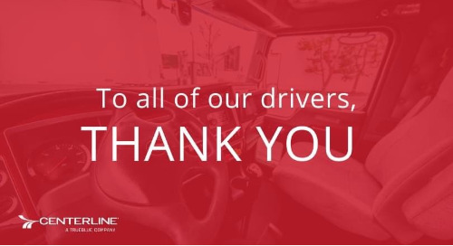 To Our Drivers, Thank You.