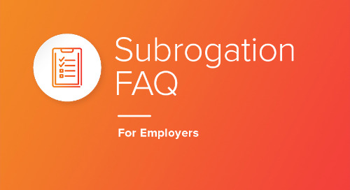 Subrogation FAQ for Employers