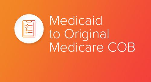 Medicaid to Original Medicare COB
