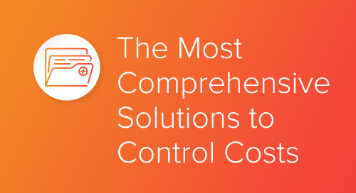 The Most Comprehensive Solutions to Control Costs