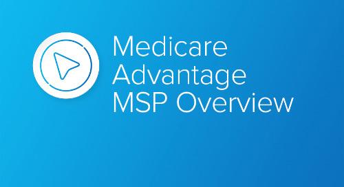 Medicare Advantage MSP Overview