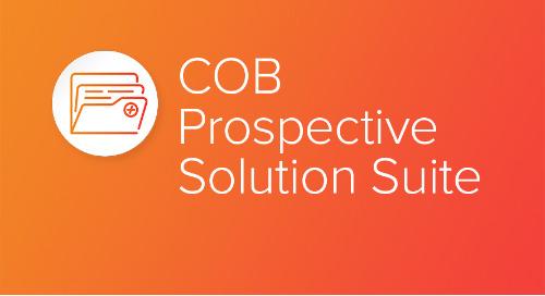 COB Prospective Solution Suite