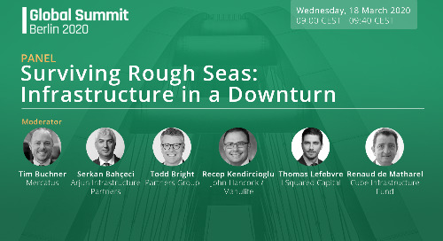 Surviving Rough Seas: Infrastructure in a Downturn | PEI Berlin Panel Discussion