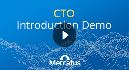 CTO Introduction to Mercatus
