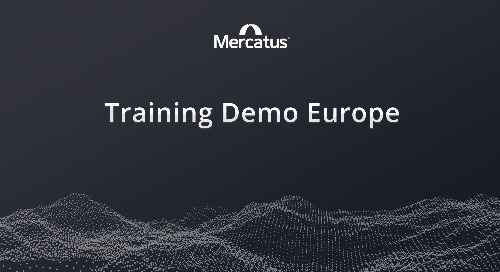 Mercatus + Lionpoint | Training Demo Europe