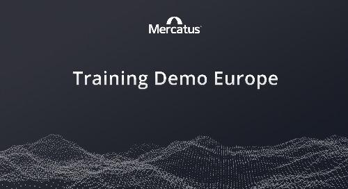 Mercatus + Lionpoint | Training Demo Europe