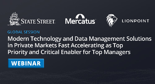 Modern Technology and Data Management Solutions in Private Markets | Webinar