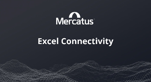 Mercatus Excel Connectivity