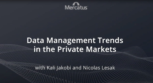 Data Management Trends in the Private Markets