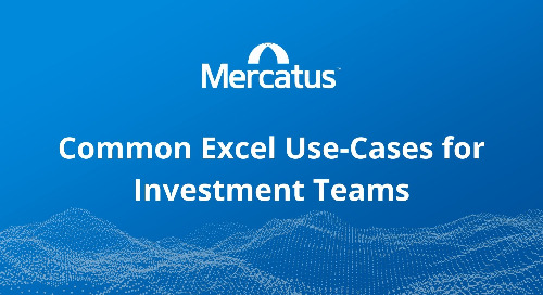 Common Excel Use-Cases for Investment Teams