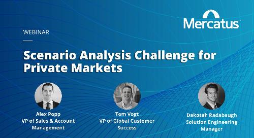 Webinar | Scenario Analysis Challenge for Private Markets