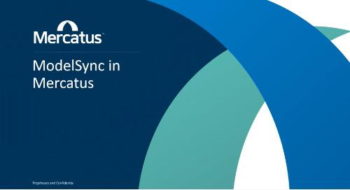 Mercatus ModelSync Technology
