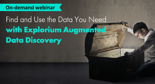 Webinar: Find and Use the Data You Need With Augmented Data Discovery