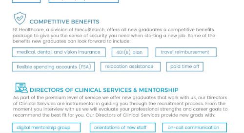 ES Healthcare: New Grad Opportunities